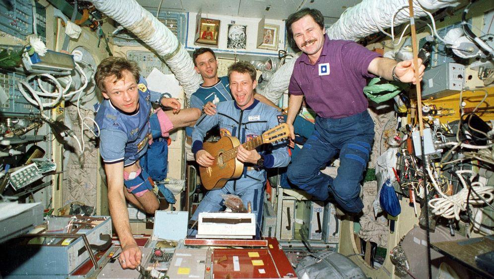 ISS: Thomas Reiter warnt vor falschem Kult