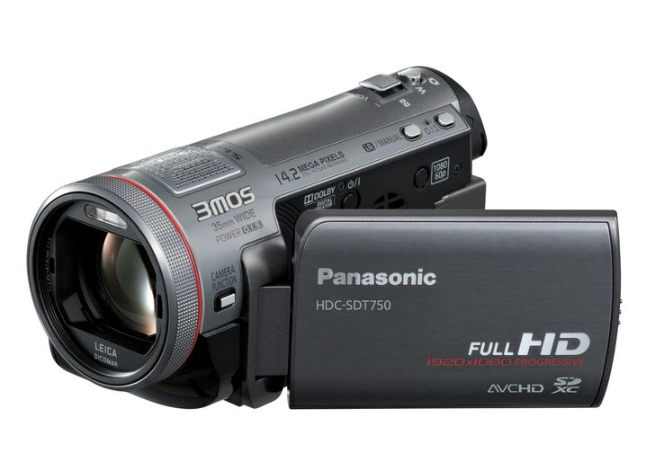 Panasonic HDC-SDT750: 3-D-Videokamera für Jedermann