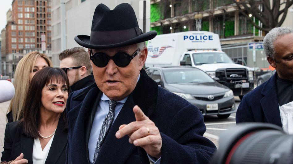 Kennt sich mit Skandalen aus: Roger Stone
