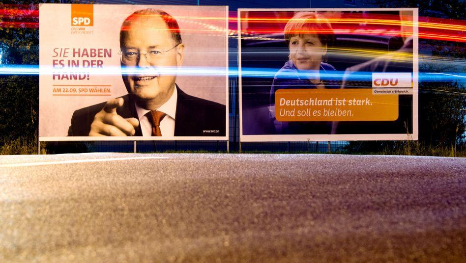 Wahlkampf 2013: Steinbrück attestiert SPD Fehleinschätzungen