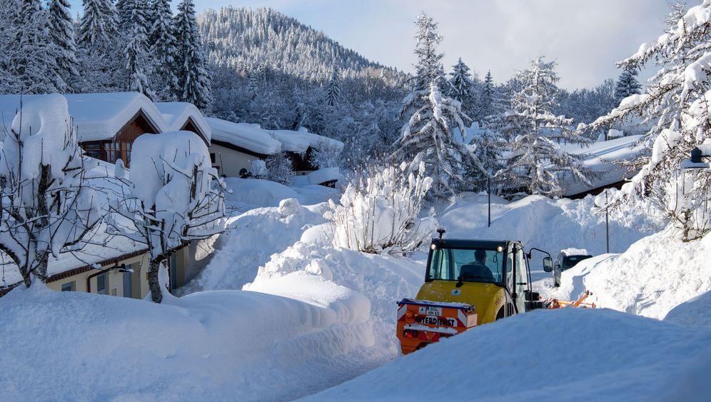 Heftiges Winterwetter: Schnee, Schnee, Schnee