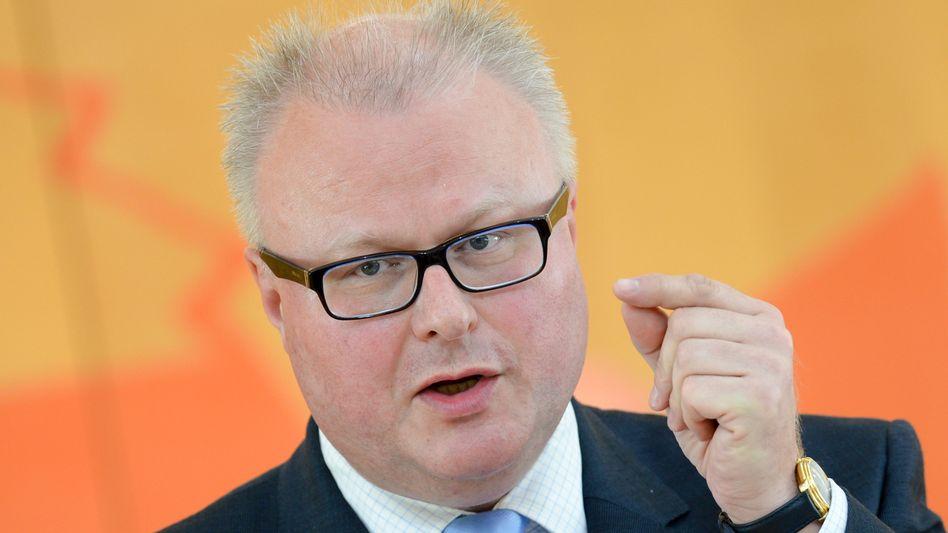 """Ansage von Schwarz-Grün aus Hessen: Finanzminister Thomas Schäfer (CDU) kündigt einen """"Sonderfonds Hochschulen"""" an"""