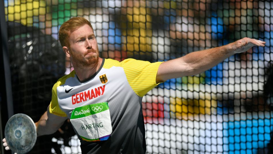 Olympiasieger Christoph Harting