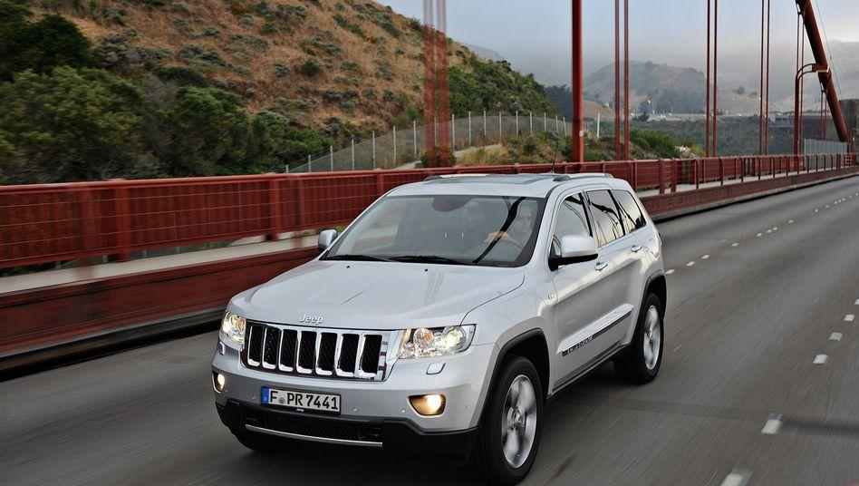 Jeep Grand Cherokee: Unfallgefahr wegen Bremsdefekt