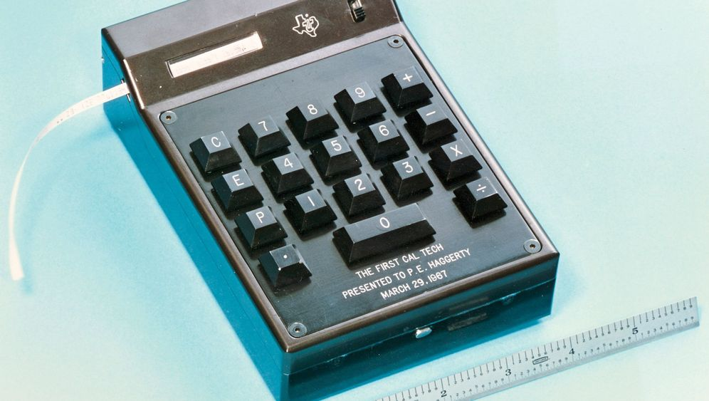 Erfindung von 1967: Taschenrechner raus, Klassenarbeit!