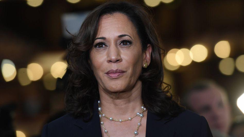 Kamala Harris ist Anwärterin auf das Amt der Vizepräsidentin der USA