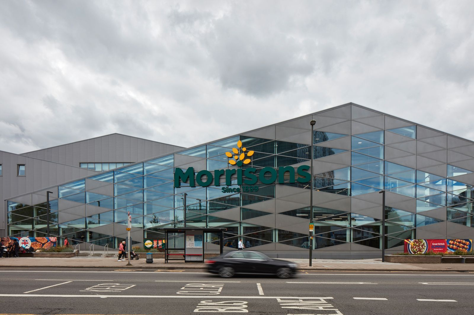 Morrisons, Colindale, London, United Kingdom. Architect: n/a, 2017.
