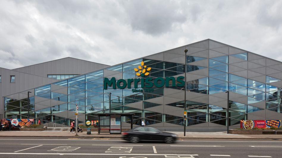 Morrisons-Filiale in London, Großbritannien