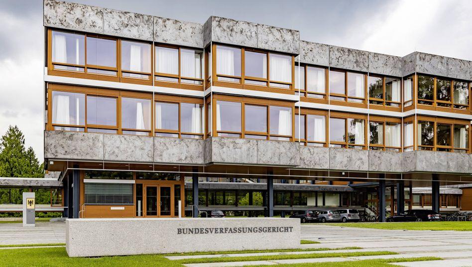 Gebäude des Bundesverfassungsgerichts in Karlsruhe (Archivfoto)