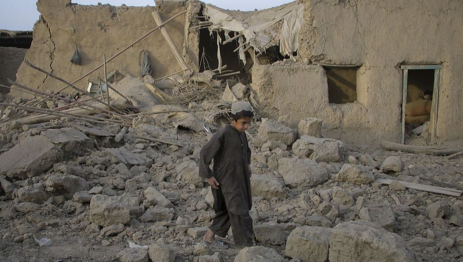 Zerstörtes Haus in Afghanistan: Die Zahl der zivilen Opfer steigt
