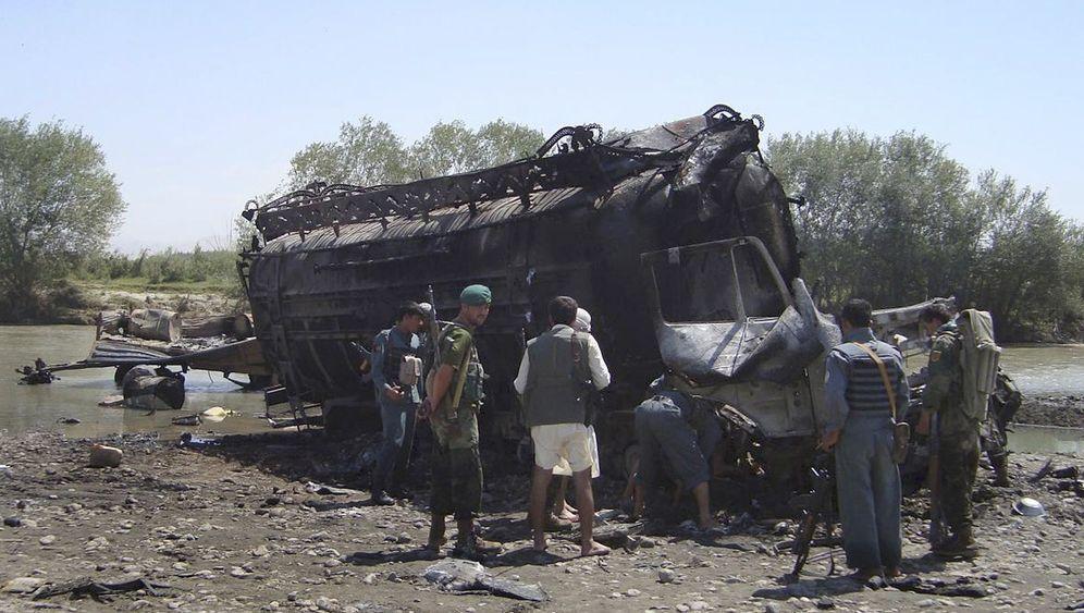 Nato-Angriff auf Tanklaster: Jung räumt Fehler beim Luftschlag ein