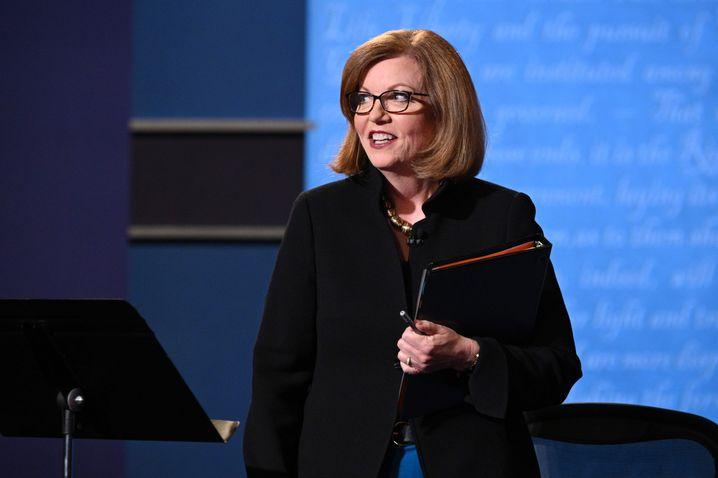 """Susan Page: Die Leiterin des Washingtoner Büros von """"USA Today"""" moderiert das Duell"""