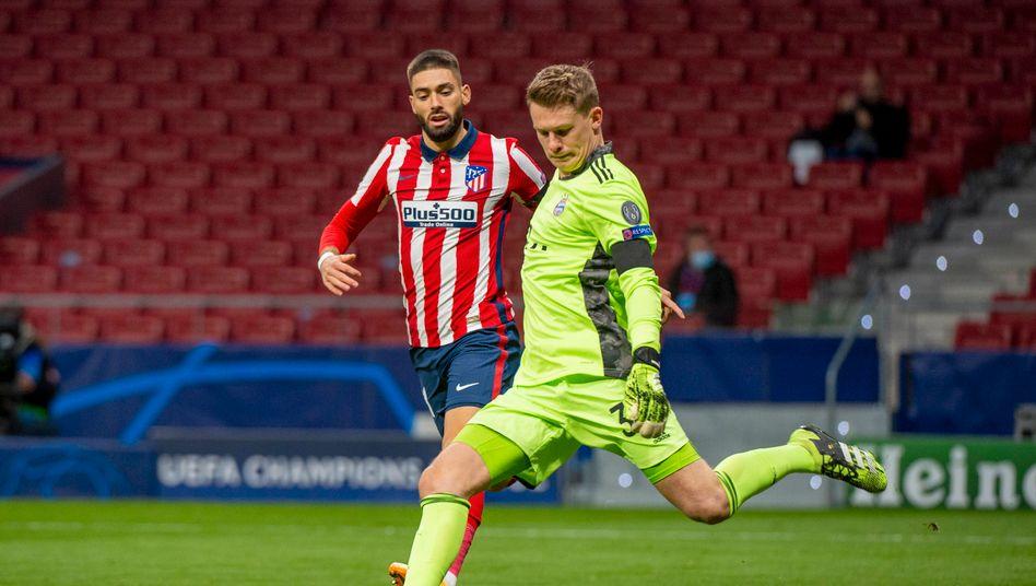 Bayern-Torwart Nübel: In Madrid gezeigt, was ihm noch fehlt