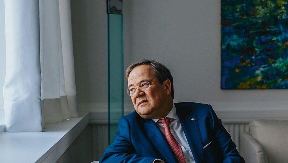 Ministerpräsident Laschet: »Mein Vater war Bergmann«