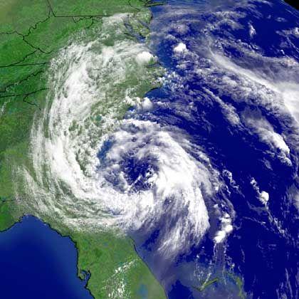 """Tropensturm """"Andrea"""": Drei Wochen früher als erwartet"""