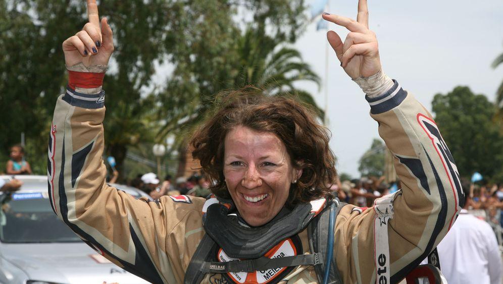 Dakar-Fahrerin Tina Meier: Leidenschaft auf zwei Rädern