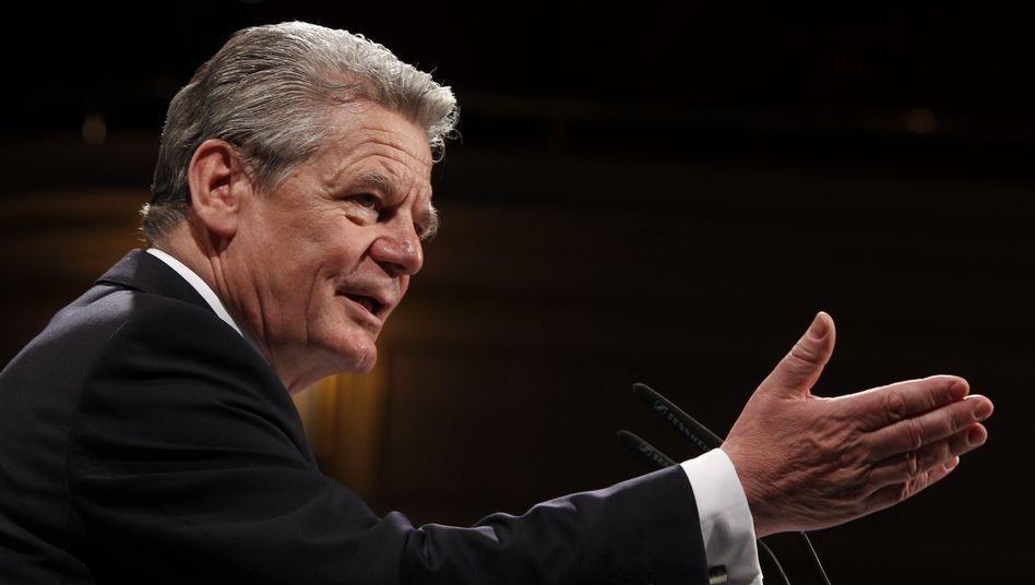 Joachim Gauck: Die freien Wähler setzen auf ihn