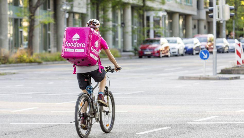 """Fahrer der Delivery-Hero-Tochter Foodora: """"Alles, was dieses Unternehmen wollte, war ein Monopol, um seine Mitarbeiter dann noch schlechter behandeln zu können"""""""