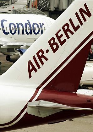 Fluggesellschaften Air Berlin und Condor: Zusammen mit TUIfly bahnt sich ein Dreierbündnis in der Luftfahrtbranche an