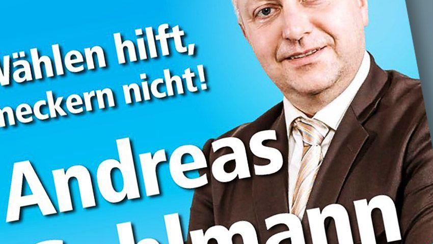 AfD-Wahlplakat von Andreas Gehlmann