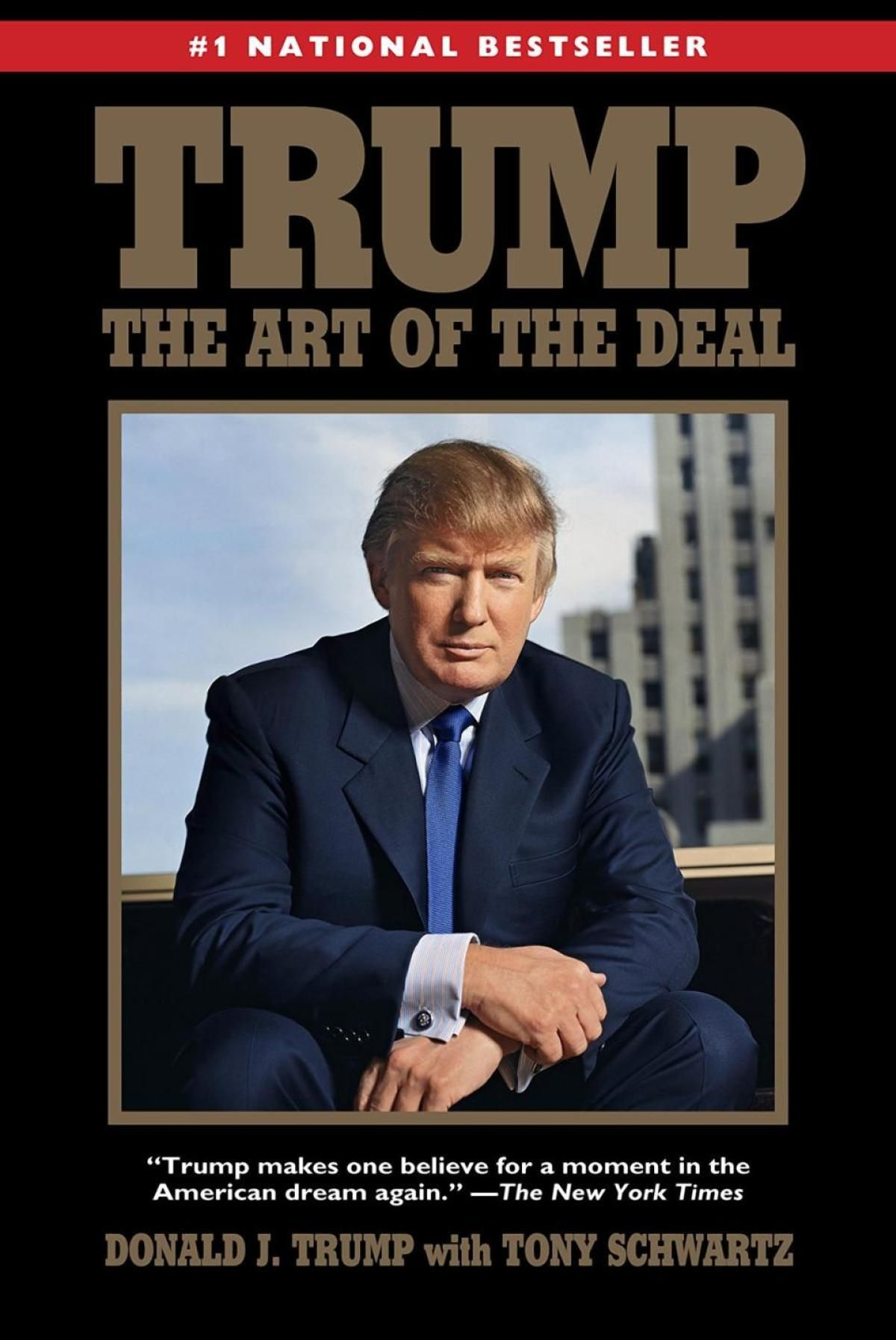 EINMALIGE VERWENDUNG Cover Trump The Art of the Deal