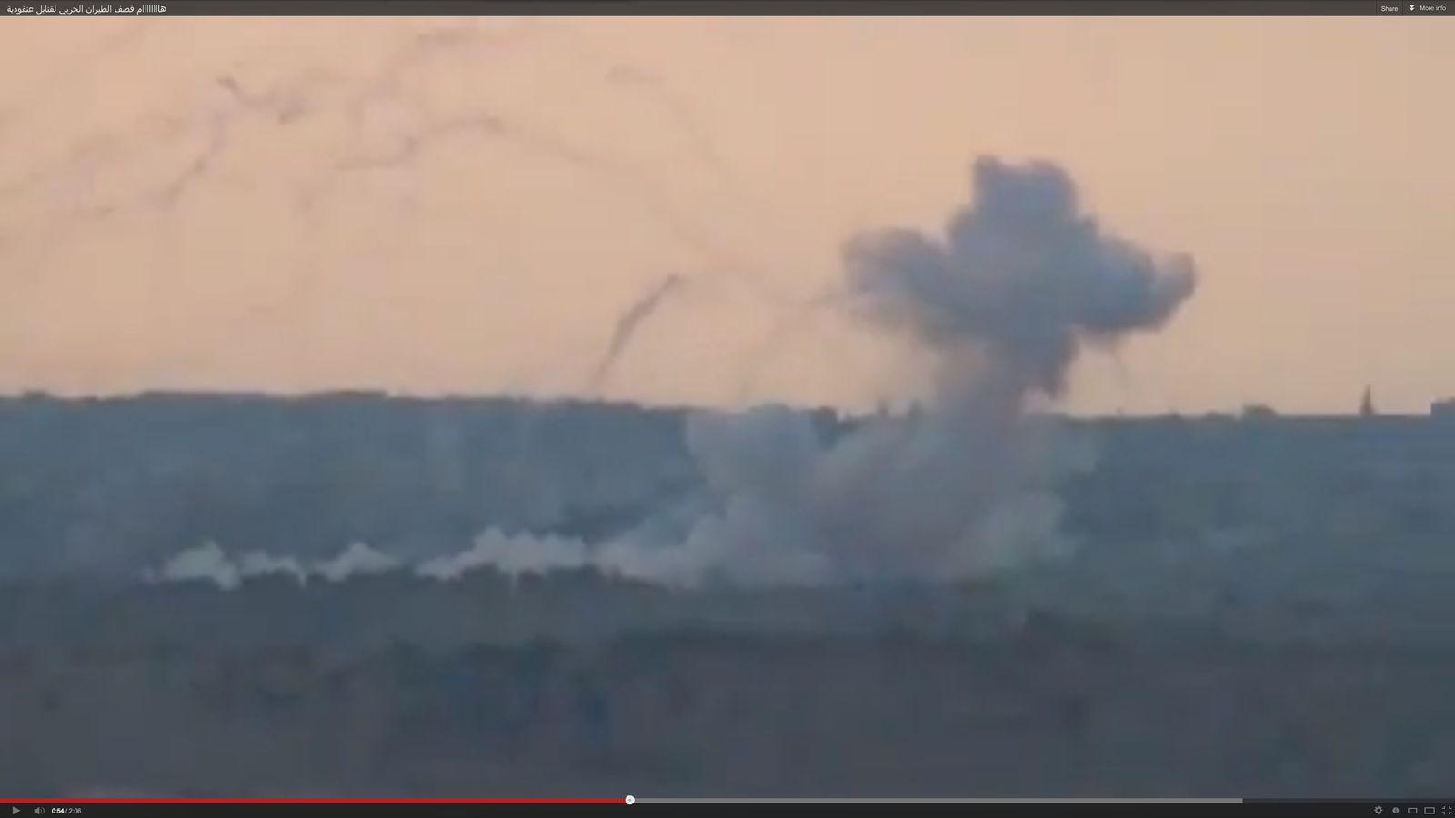 NUR ALS ZITAT Syrien / Brandbomben / Youtube