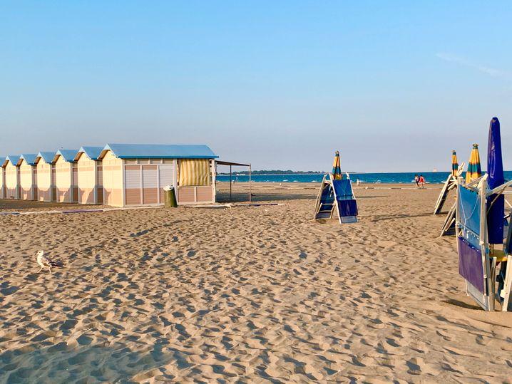 Lido di Venezia: Blick aufs Meer