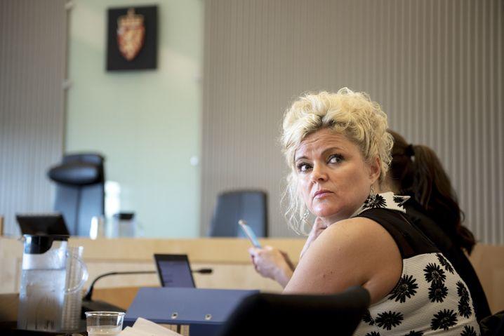 Firsuerin Merete Hodne vor Gericht