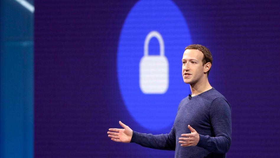 Facebook-CEO Mark Zuckerberg will seine Dienste stärker verschlüsseln