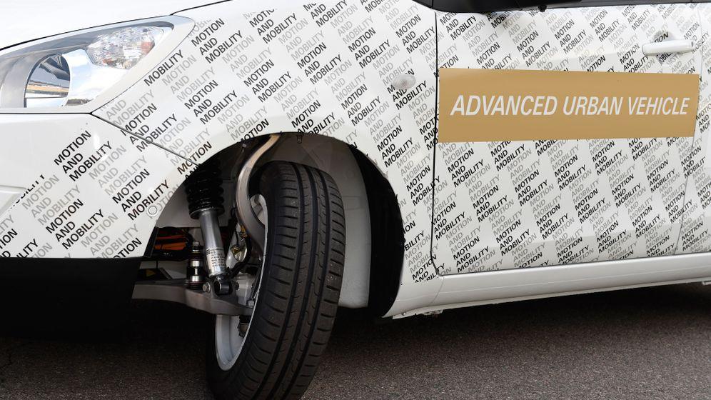 ZF Advanced Urban Vehicle: Der Brummkreisel