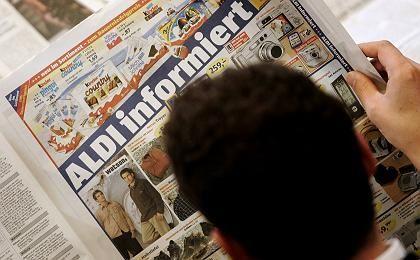 Aldi-Anzeige: Stabilie Preise?Nicht mehr