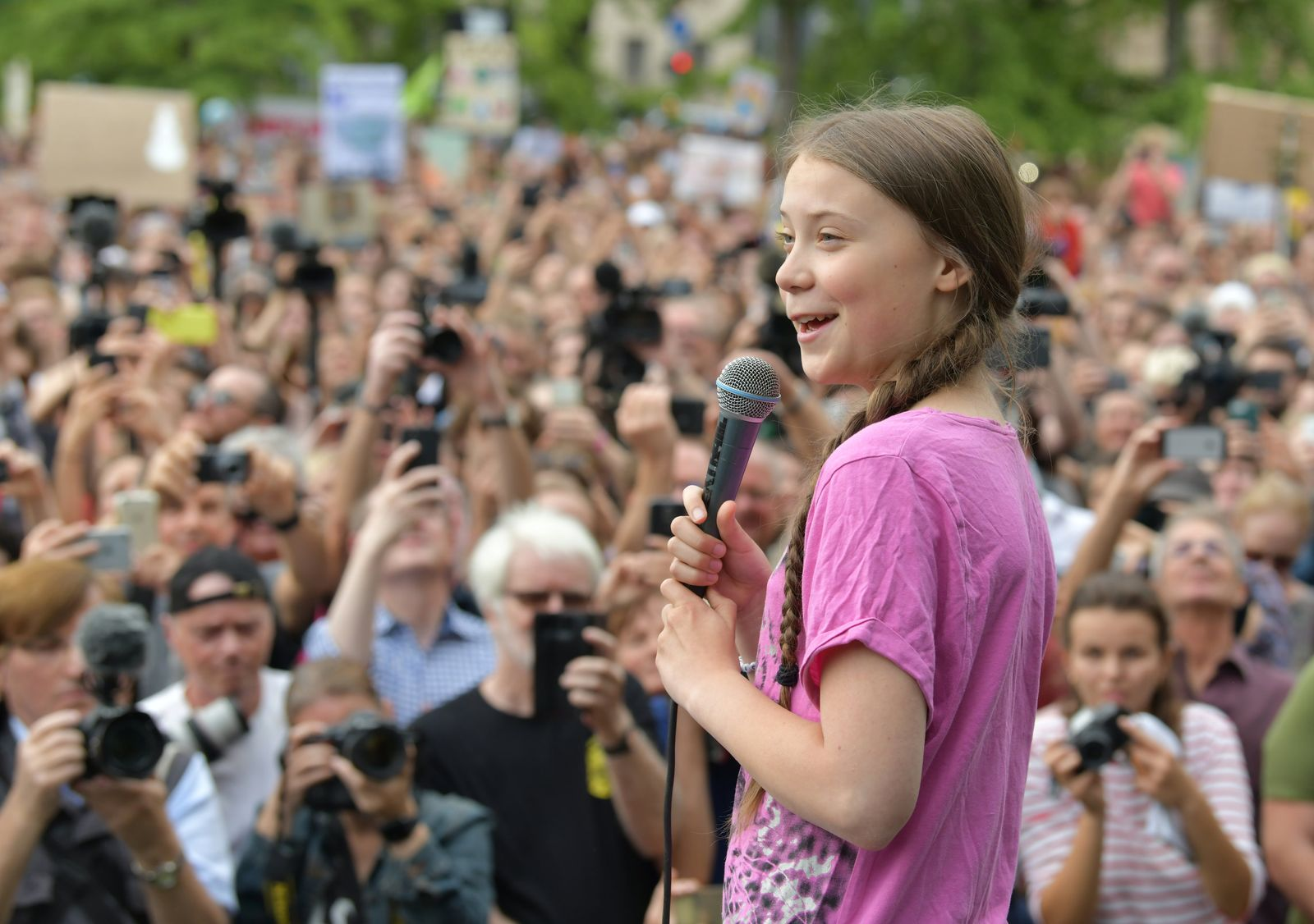 Fridays for Future Demonstration in Berlin