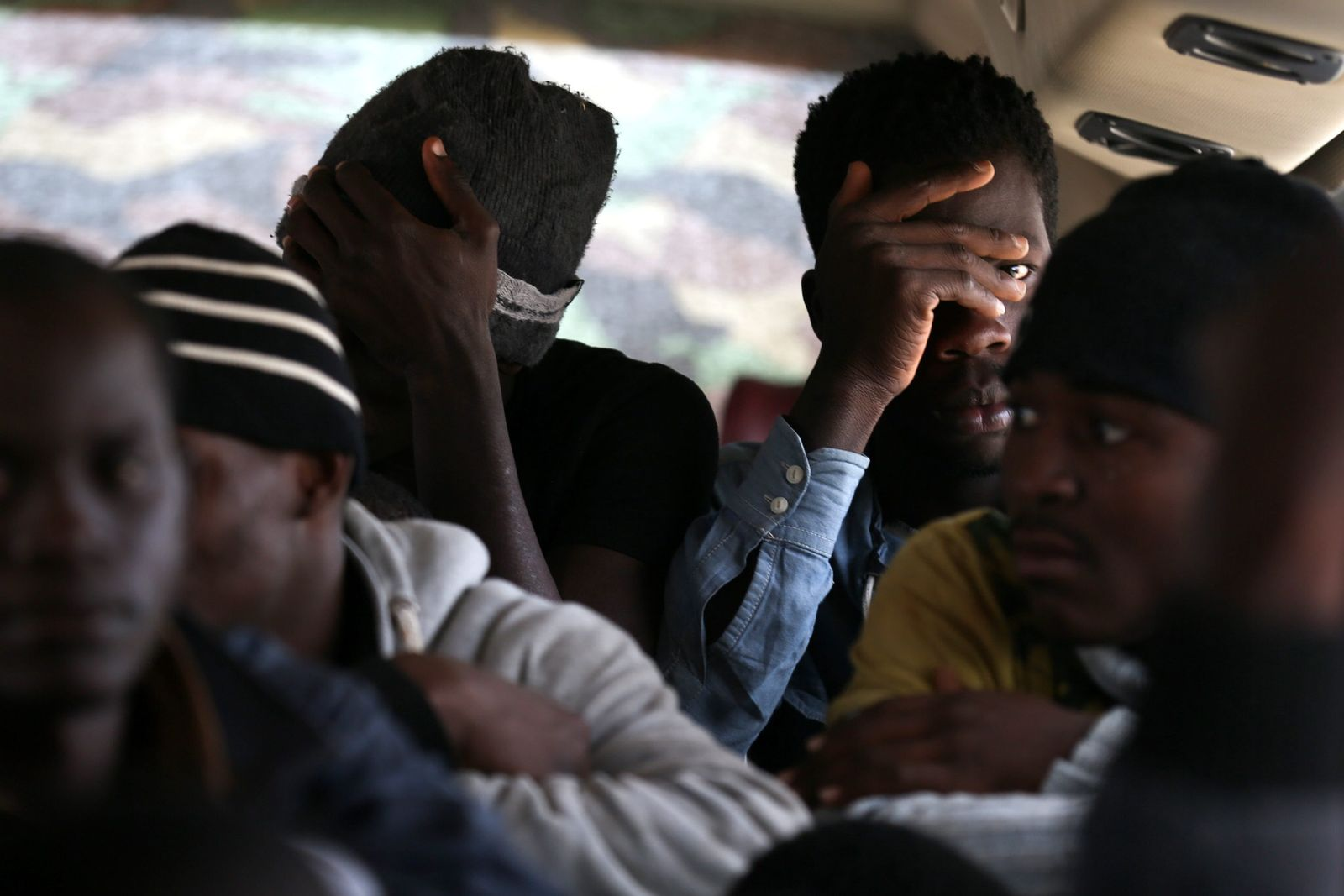 Lybien / Tripoli / Migranten