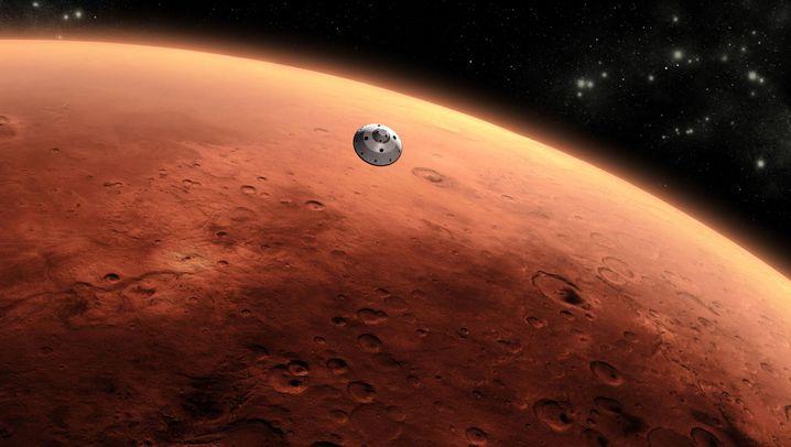 """""""Curiosity"""": Mars-Mission im Zeitraffer"""