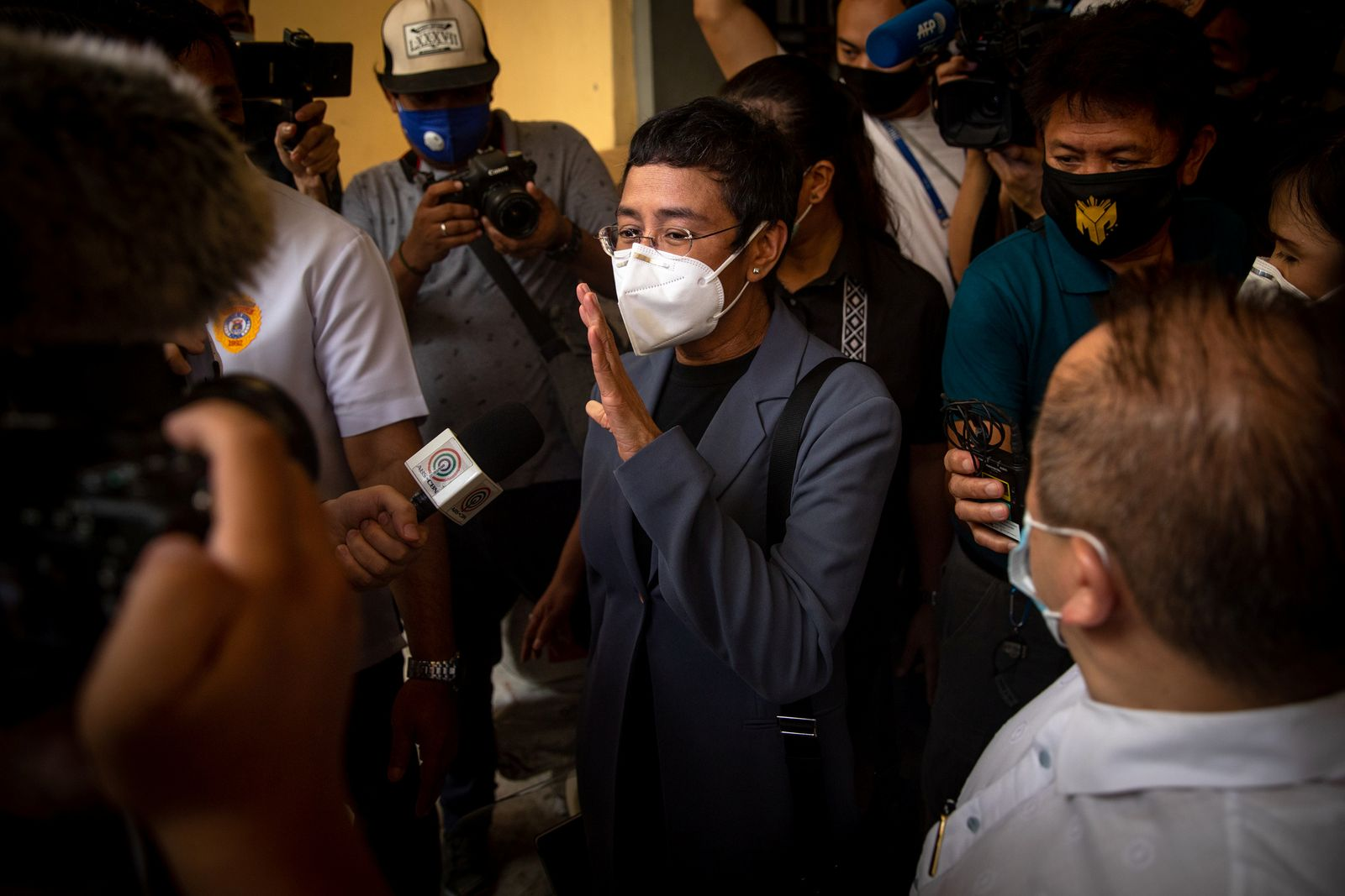 Philippine court finds news site chief Maria Ressa guilty of libel