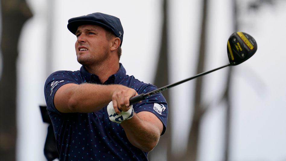 Dryson DeChambeau beim Auftakt der PGA Championship
