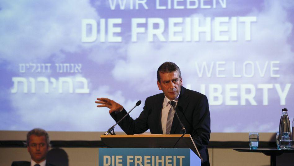 """Stadtkewitz und Wilders (Archivbild): """"Diese Hetze fällt nicht vom Himmel"""""""