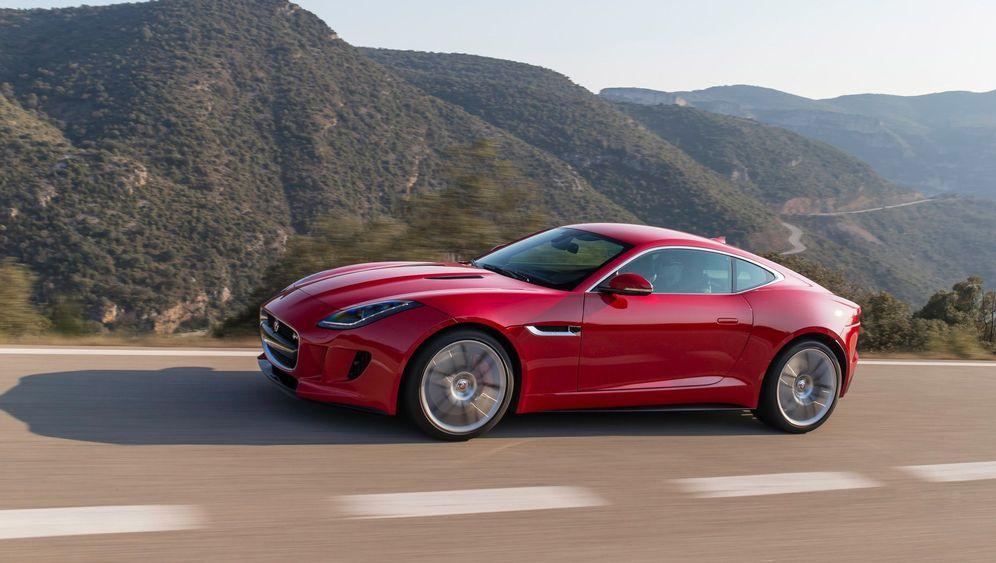 Autogramm Jaguar F-Type Coupé: Das Glück unter der Haube
