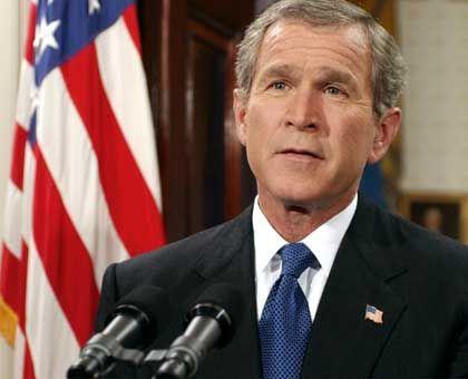 US-Präsident Bush: Weltweit amerikanisches Recht