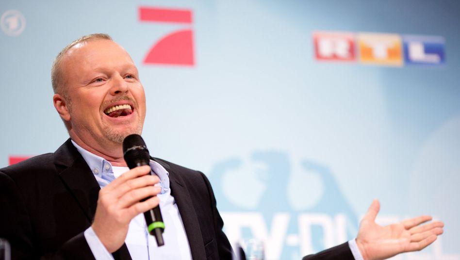 Stefan Raab vor dem Kanzlerkandidaten-Duell 2013