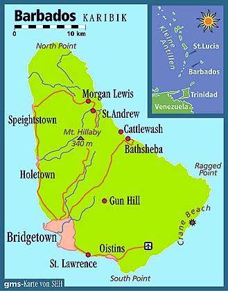 Die östlichste der karibischen Inseln
