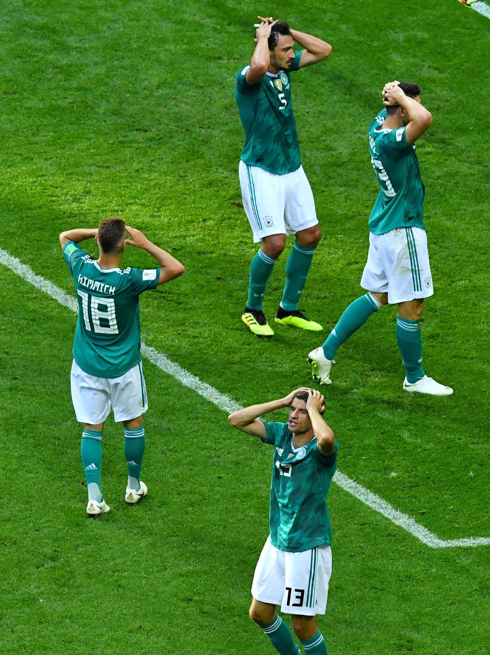 SOCCER-WORLDCUP-KOR-GER/