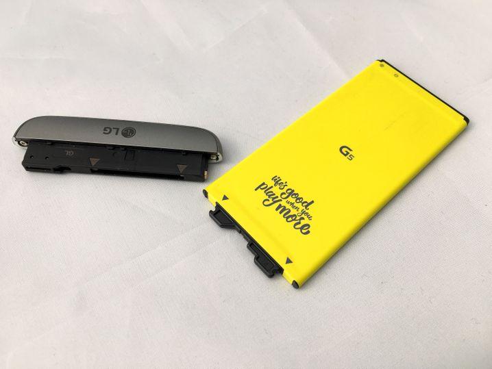 Der Akku des LG G5