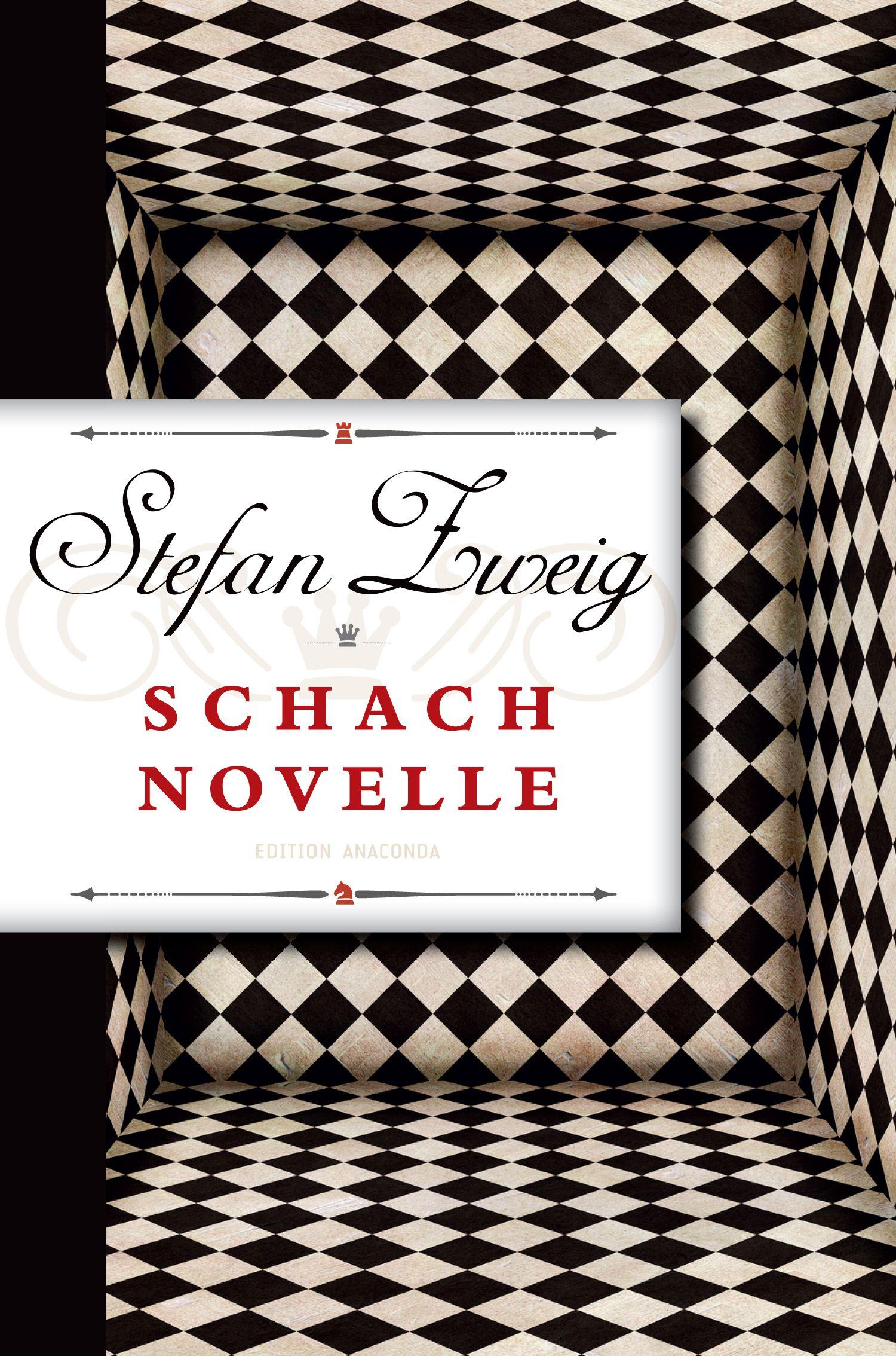 Cover Schachnovelle / Edition Anaconda