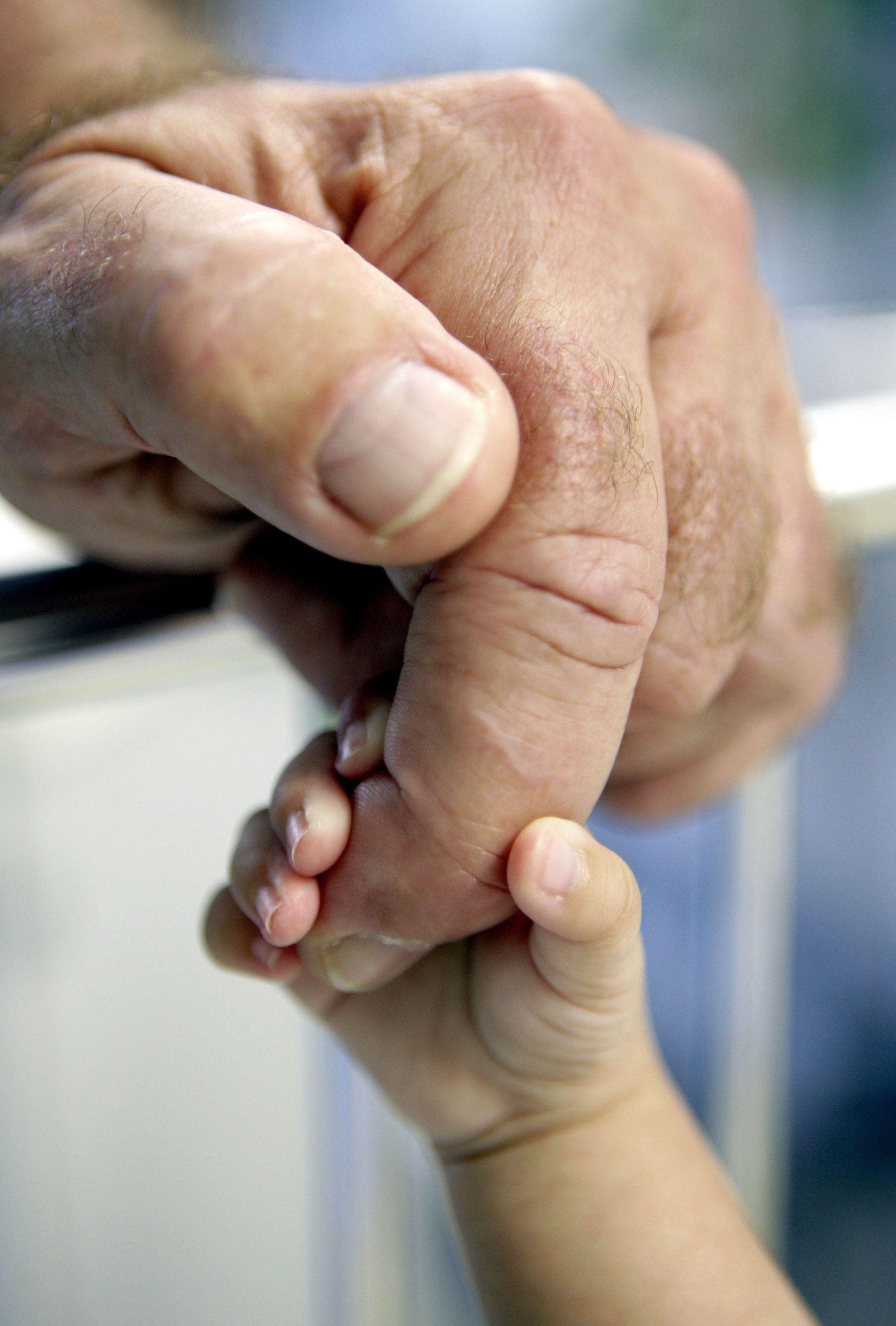 Samenspenderregister - Vater und Kind