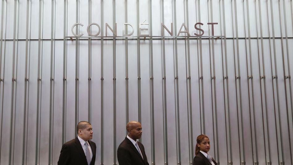 Schriftzug von Condé Nast: Entschädigung für Praktikanten