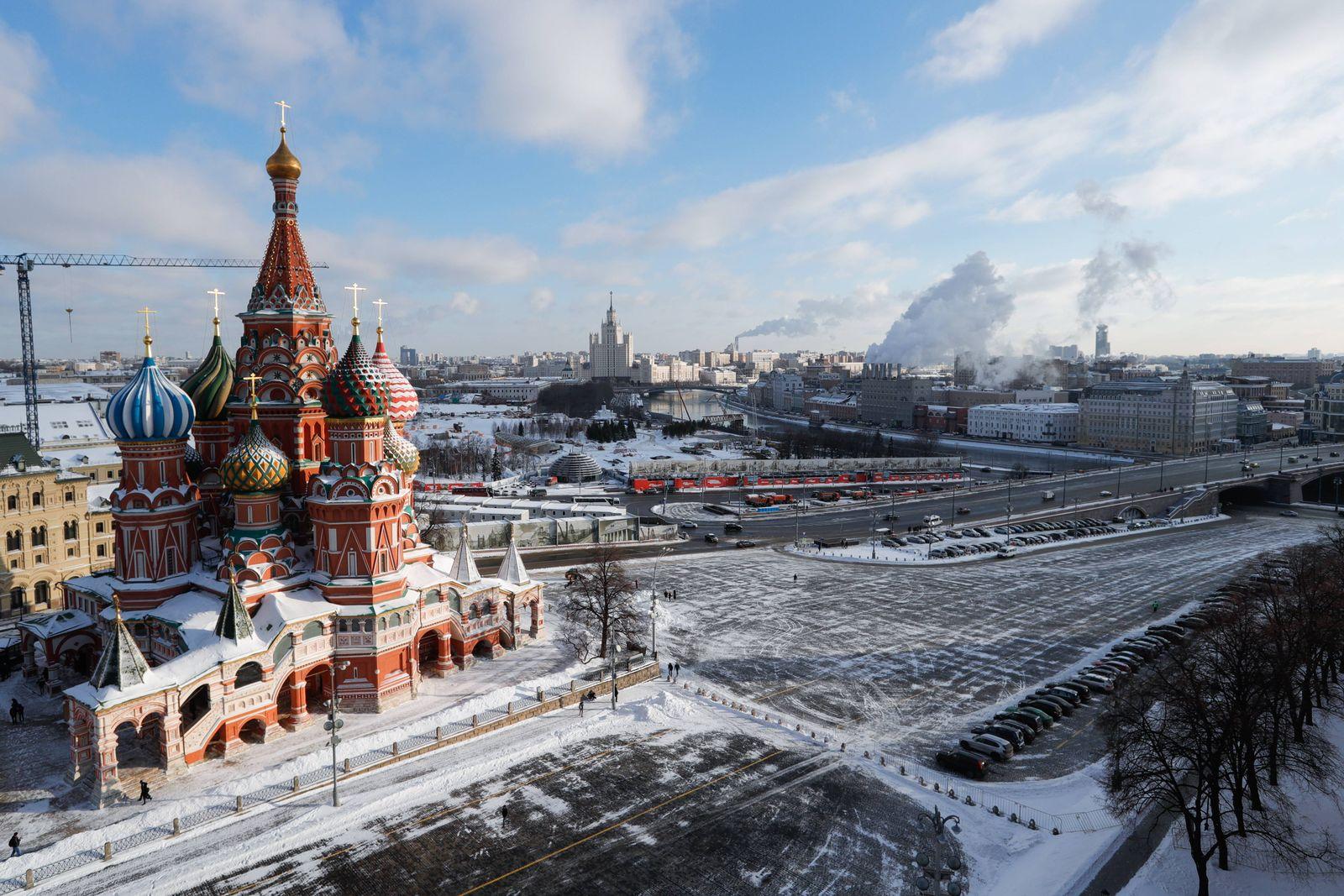 EINMALIGE VERWENDUNG Russland/ Handel