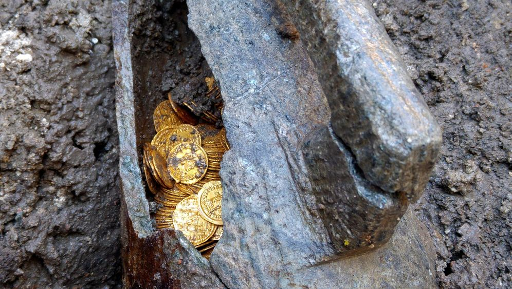 Münzschatz aus Italien: Alles Gold, was glänzt