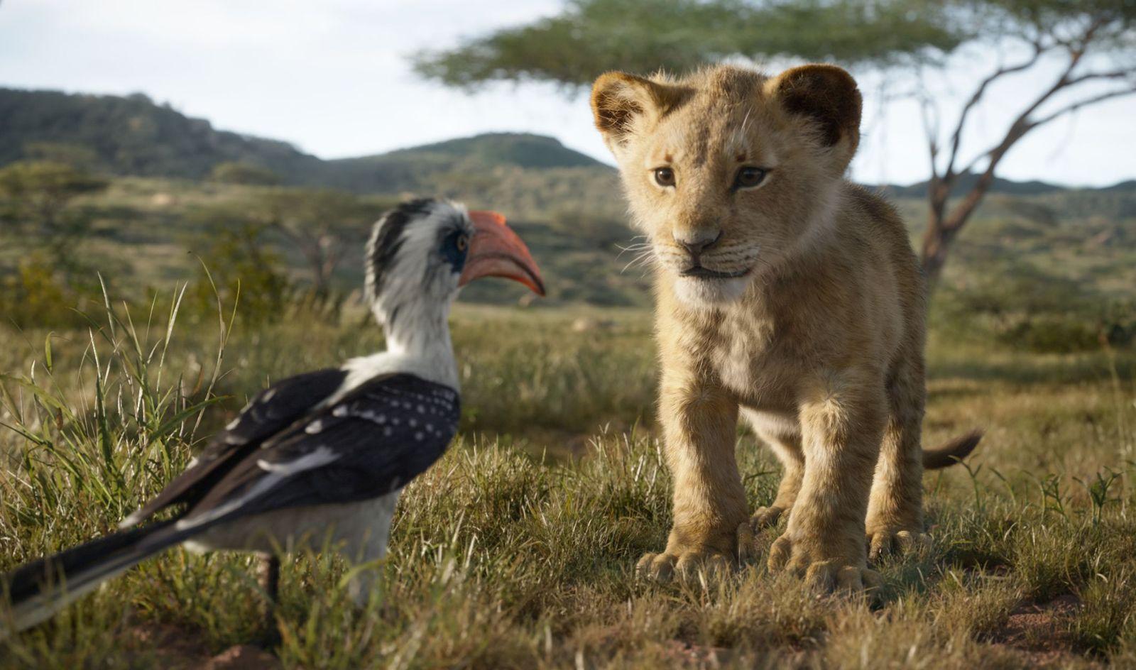 EINMALIGE VERWENDUNG Film/ König der Löwen VID