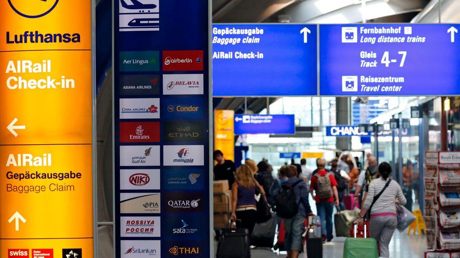 Reisende am Flughafen Frankfurt: Sammeln, speichern, auswerten
